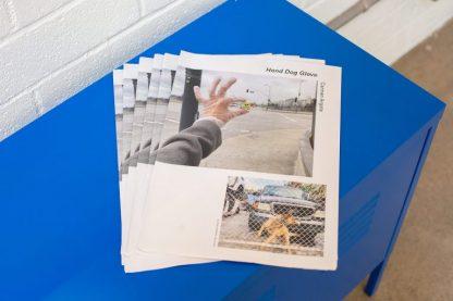 Hand Dog Glove Exhibition Broadsheet